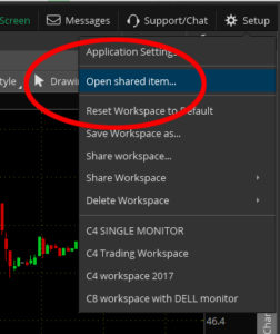 What is a ThinkOrSwim Study Set and how to install one – The